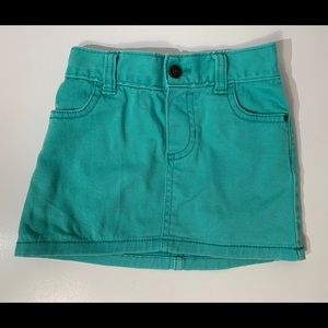 Carter's Toddlers Girl Jean Skirt Size 3T